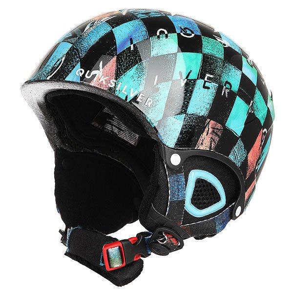 Шлем для сноуборда Quiksilver The Game Chakalapaki OriginСноуборд<br>Сноубордический шлем с амортизирующим наполнителем из пены EPS и яркой графикой от Quiksilver.Технические характеристики: Сверхлегкая двойная конструкция.Пенный амортизирующий наполнитель EPS.Вентиляция сверху и внутренние каналы EPS для эффективного воздухообмена.Теплая и комфортная подкладка из флиса и сетки.Мягкие термоформованные ушные накладки.Интегрированная система регулировки размера.Ремень для подбородка из шерпы.Зажим для маски.Вес 340 г.<br><br>Размер EU: 52<br>Цвет: мультиколор<br>Тип: Шлем для сноуборда<br>Возраст: Детский