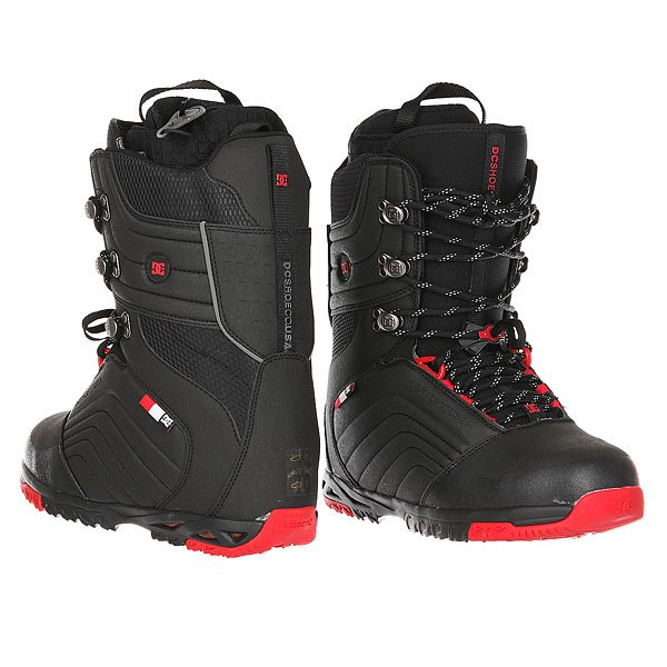 Ботинки для сноуборда DC Scendent Black/Red от BOARDRIDERS