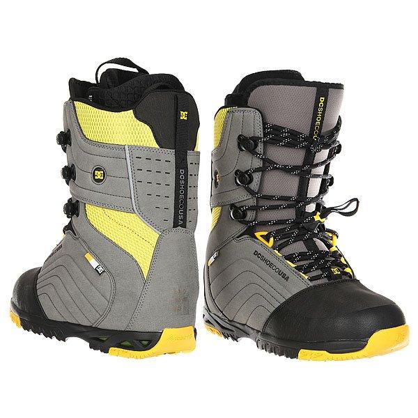 Ботинки для сноуборда DC Scendent Grey/Yellow от BOARDRIDERS