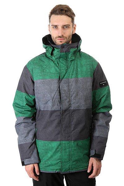 Куртка Quiksilver Mission Print Stripe Jolly GreenКуртки<br><br><br>Размер EU: XS<br>Размер EU: M<br>Размер EU: L<br>Размер EU: XL<br>Размер EU: S<br>Цвет: серый,зеленый<br>Тип: Куртка утепленная<br>Возраст: Взрослый<br>Пол: Мужской