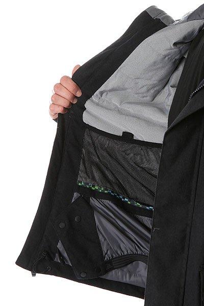 Куртка Quiksilver Selector Plus Black