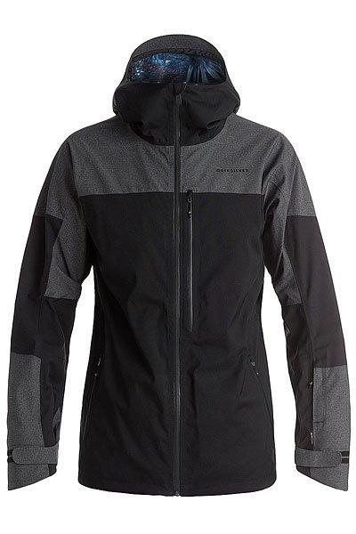 Куртка Quiksilver Stencil BlackКуртки<br><br><br>Размер EU: S<br>Размер EU: XL<br>Цвет: черный,серый<br>Тип: Куртка утепленная<br>Возраст: Взрослый<br>Пол: Мужской