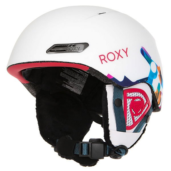 Шлем для сноуборда женский Roxy Love Is All Milo Typo/bright White