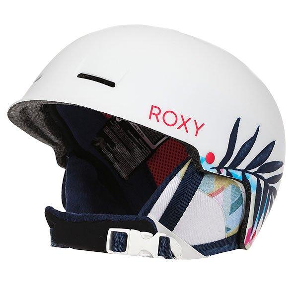 Шлем для сноуборда женский Roxy Avery Botanik/Bright White