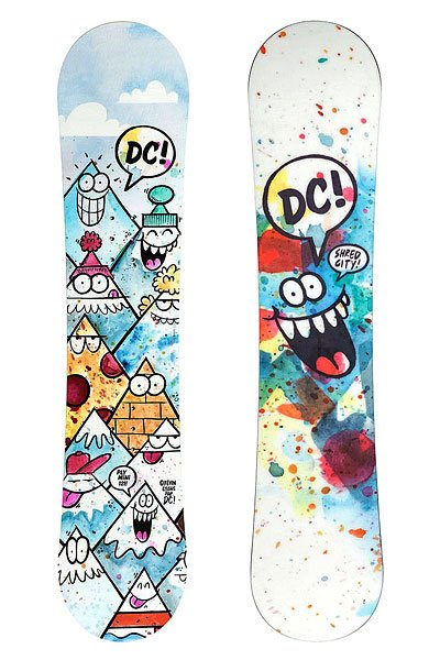 Сноуборд детский DC Shoes Ply Mini B Snbd Mul Multi 135 от BOARDRIDERS