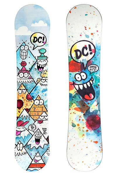 Сноуборд детский DC Shoes Ply Mini B Snbd Mul Multi 125 от BOARDRIDERS
