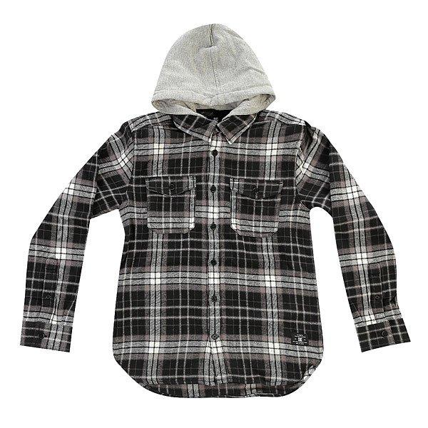 Рубашка в клетку детская DC Runnels BlackОдежда<br><br><br>Размер EU: 14yrs<br>Цвет: черный,белый<br>Тип: Рубашка в клетку<br>Возраст: Детский