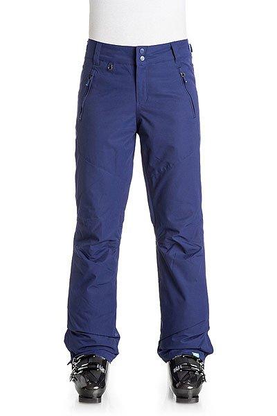 Штаны сноубордические женские Roxy Winterbreak Blue PrintШтаны<br>Спортивные штаны классического прямого кроя Roxy Winterbreak выполнены из влагостойкого мембранного материала DryFlight® 10К и готовы встать на защиту юных прекрасных райдеров, которые стремятся проводить всё свое свободное время на склоне в холоде и снегу, но с доской и довольной улыбкой. Качественный синтетический утеплитель Warmflight® обеспечит тепло на протяжении всего дня катания, а мягкая подкладка из легкой тафты позаботится о комфорте и уюте. Дополнительную защиту от снега и ветра обеспечат снегозащитные гетры, проклеенные критические швы и система пристегивания штанов к куртке.Характеристики:Влагостойкая мембранная ткань DryFlight® 10К (10 000 мм / 10 000 г). Классический крой. Застегиваются на молнию и кнопки.Регулируемая талия. Подкладка из легкой тафты. Качественный синтетический утеплитель Warmflight® (40 г). Критические швы проклеены.Вентиляционные отверстия с сетчатой подкладкой. Карманы для рук на молнии. Задние прорезные карманы. Снегозащитные гетры. Карман для ски-пасса.Края штанин на кнопке. Система утяжки краев штанин для предотвращения загрязнения. Система пристегивания штанов к куртке. Состав: 100% полиэстер.<br><br>Размер EU: XS<br>Размер EU: S<br>Размер EU: M<br>Размер EU: L<br>Цвет: синий<br>Тип: Штаны сноубордические<br>Возраст: Взрослый<br>Пол: Женский