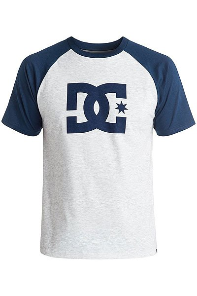 Футболка DC Star Raglan Light Heather/Varsit