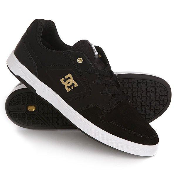 Кеды кроссовки низкие DC Argosy Black/Gold