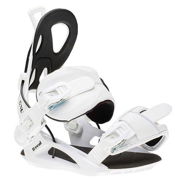 Крепления для сноуборда GNU B-real Bind White