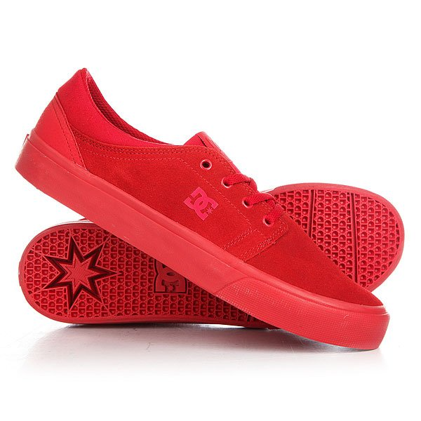 Кеды кроссовки низкие женские DC Trase Sd Red