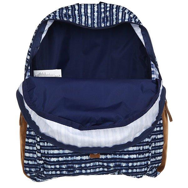 Рюкзак городской женский Roxy Carribean Blue Depths Olmeque от BOARDRIDERS