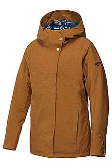 Куртка женская Roxy Torah Bright Individual Jacket Bone Brown