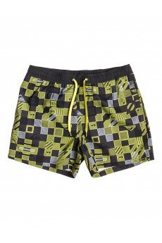 ����� ������� Quiksilver Checkered Vl15 Jamv Checkered Volley Sulphur