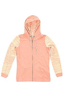 Толстовка женская Roxy Jumpy Jump Zip J Otlr Bloom Pink