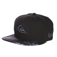 ��������� New Era Quiksilver Scallop NewEra Black/Grey