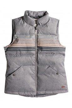 ����� ������� Roxy Freedom Vest St J Jckt Charcoal Heather