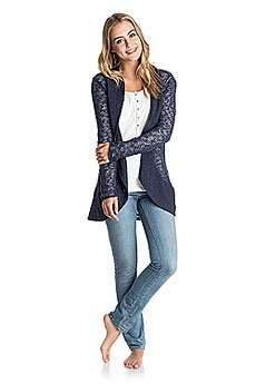 �������� Roxy Sea Of Love J Swtr Peacoat