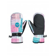 ������� ��������������� ������� Roxy Jetty Girl Mitt Plaid Lines