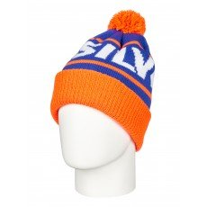����� Quiksilver Fots Summit Beanie Shocking Orange