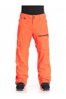 Штаны сноубордические Quiksilver Tr Invert Pant Shocking Orange