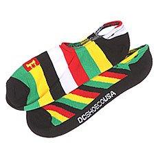 ����� ������ DC 2pk Sneakers Rasta Mix Socks Black