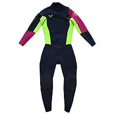 Гидрокостюм детский Roxy Cypher 3/2mm L/Sl Chest Zip Full Uni