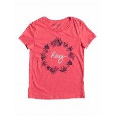 �������� ������� Roxy Little basic tee Bright Pink