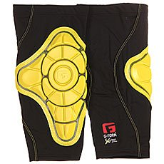 Защита на колени G-Form Pro-X Knee Pads Black/Yellow