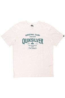 �������� Quiksilver Claste Geeclaiit Tees White