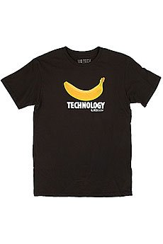 Футболка Lib Tech Banana Tech Tee Tr Black