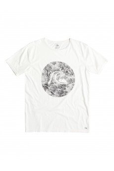 Футболка Quiksilver Gardyed Sunset Tees Snow White
