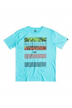 �������� Quiksilver Classic Tee Linup Tees Bluefish