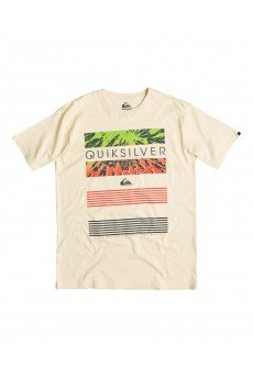 �������� Quiksilver Classic Tee Linup Tees Transparent Yellow