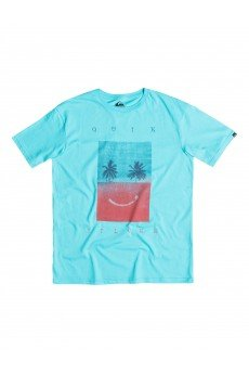 Футболка Quiksilver Class Tee Sad Bet Tees Bluefish