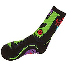 ����� ������� Lib Tech Green Girl Sock Black