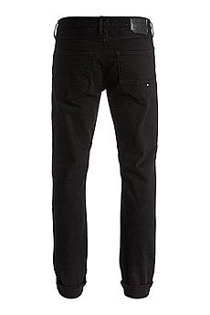 Джинсы прямые DC Worker Straight Pant Black Rinse