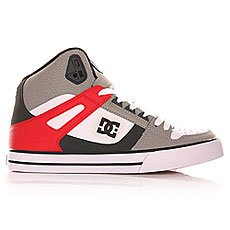 ���� ������� DC Spartan High Wc Grey/Red/White