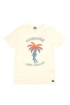 �������� Quiksilver Island Pleasures Tees Snow White