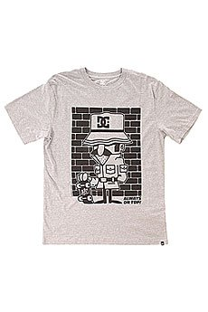 Футболка DC 123 Instigate S Tees Heather Grey