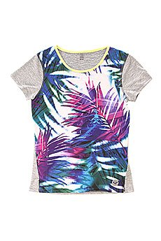 �������� ������� Roxy Cutback Tee J Kttp Sea Salt Jungle Time