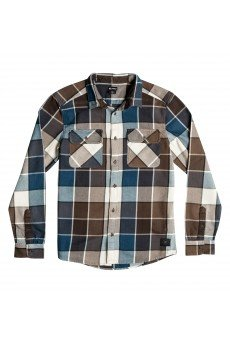 ������� � ������ DC Kalis Plaid Ls Wvtp Kalis Plaid Dark Ear