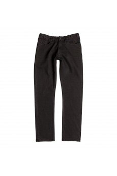 ������ ������ DC Worker Straight Pant Black Rinse
