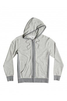 Толстовка классическая Quiksilver Essential Zip Otlr Medium Grey Heather