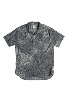 Рубашка Quiksilver Cracked Shirt Cracked Anthracite