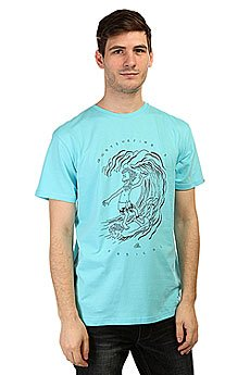 �������� Quiksilver Claste Radical Su Tees Bluefish