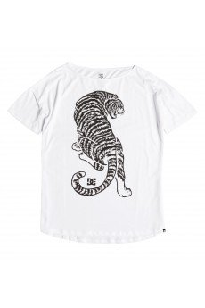 �������� ������� DC Tiger Attack Lo Tees White