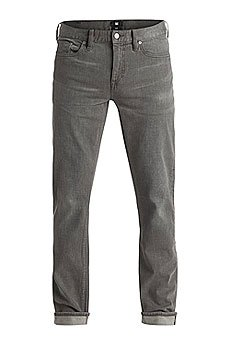 Джинсы узкие DC Washed Slim Jea Pant Light Grey