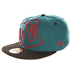 ��������� � ������ ��������� DC Coverage Hats Deep Teal/Formula Re